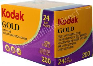 Kodak Gold 200 iso 35mm 24 exposure Colour Print Camera Film
